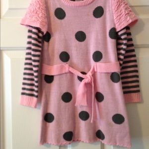 Little Lass - Sweater Dress 6X